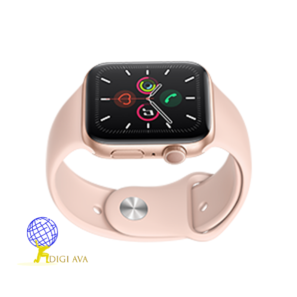 ساعت اپل سری 4 صورتی سایز 44
