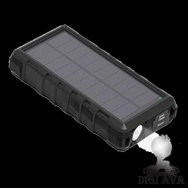 شارژؤ همراه خورشیدی راوپاور مدل pb083 با ظرفیت 25 هزار