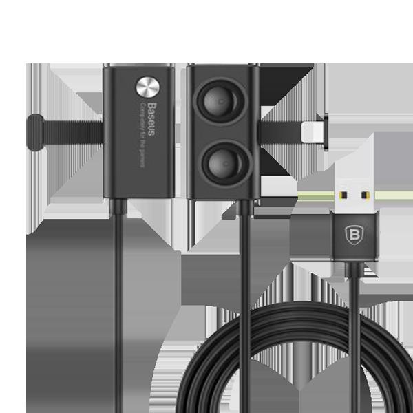 کابل شارژ لایتنینگ مکنده دار باسئوس CALXP-A01