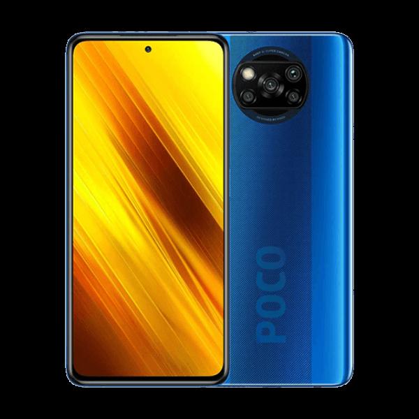 گوشی موبایل شیائومی مدل poco x3 nfc آبی