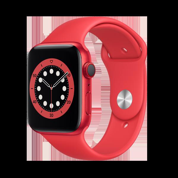 اپل واچ سری 6 سایز 44 قرمز