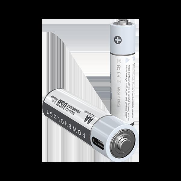 باتری قلمی شارژی پاورولوجی AAA